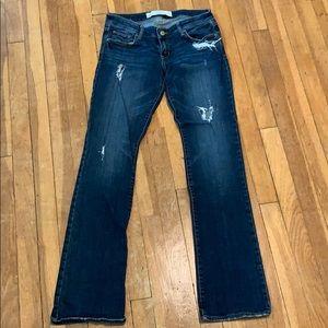 Abercrombie straight leg jeans